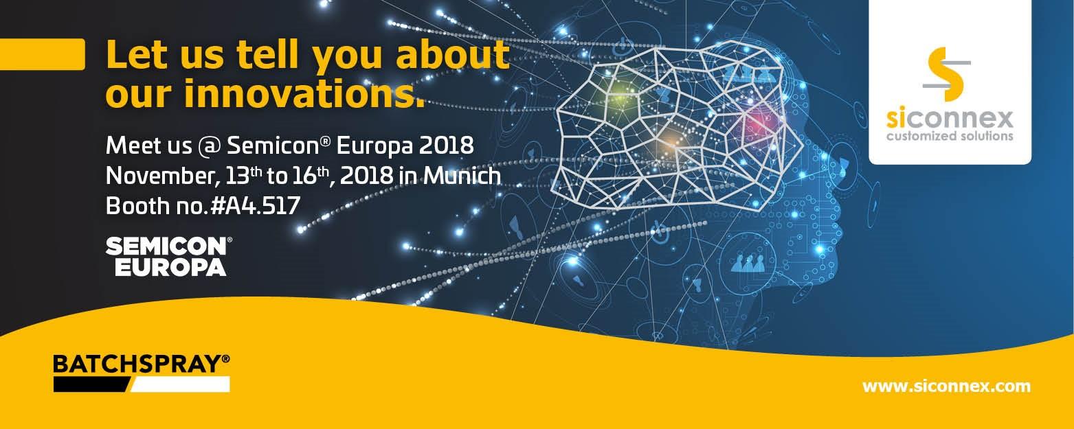 Semicon® Europa 2018